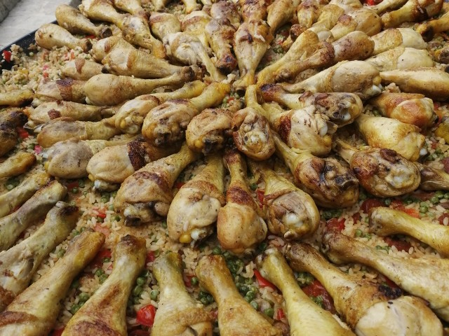 Fort mardi - Clos CARIOU Paella de viande